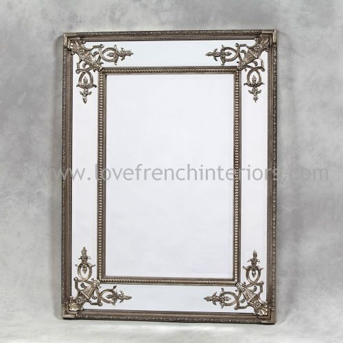 Silver French Mirror